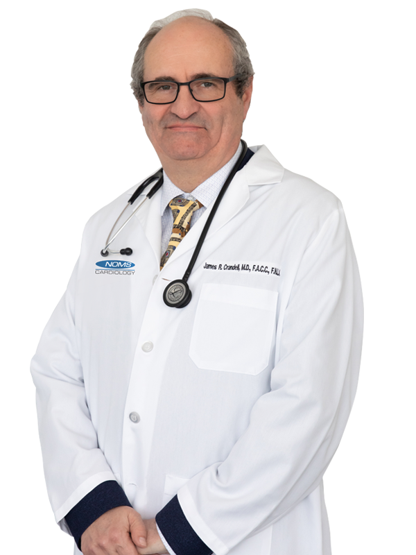 James Robert Crandell, MD, FACC, FASE
